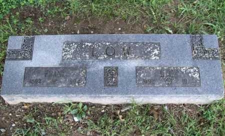 LOW, FRANK - Benton County, Arkansas | FRANK LOW - Arkansas Gravestone Photos