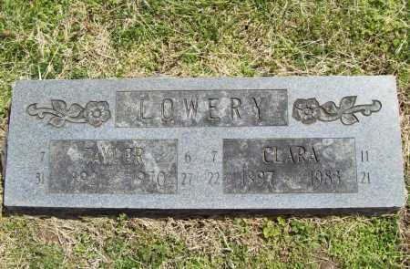 NELSON LOWERY, CLARA ALICE - Benton County, Arkansas | CLARA ALICE NELSON LOWERY - Arkansas Gravestone Photos