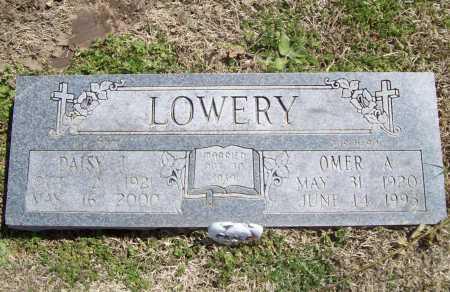 LOWERY, OMER ALVION - Benton County, Arkansas | OMER ALVION LOWERY - Arkansas Gravestone Photos