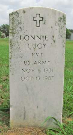 LUCY (VETERAN), LONNIE L - Benton County, Arkansas | LONNIE L LUCY (VETERAN) - Arkansas Gravestone Photos