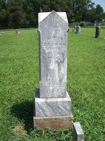 LUDEWICK, GEORGE - Benton County, Arkansas | GEORGE LUDEWICK - Arkansas Gravestone Photos