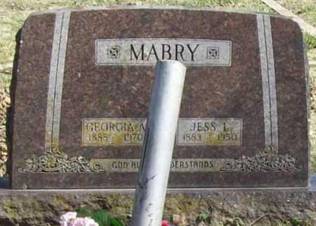 MABRY, JESS L. - Benton County, Arkansas | JESS L. MABRY - Arkansas Gravestone Photos