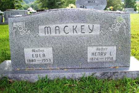 MACKEY, EULA - Benton County, Arkansas | EULA MACKEY - Arkansas Gravestone Photos