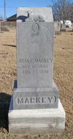 MACKEY (VETERAN UNION), JOHN F - Benton County, Arkansas | JOHN F MACKEY (VETERAN UNION) - Arkansas Gravestone Photos