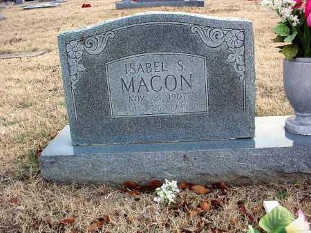 MACON, ISABEL - Benton County, Arkansas | ISABEL MACON - Arkansas Gravestone Photos