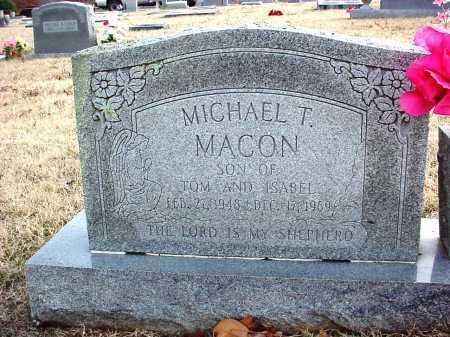 MACON, MICHAEL T. - Benton County, Arkansas | MICHAEL T. MACON - Arkansas Gravestone Photos