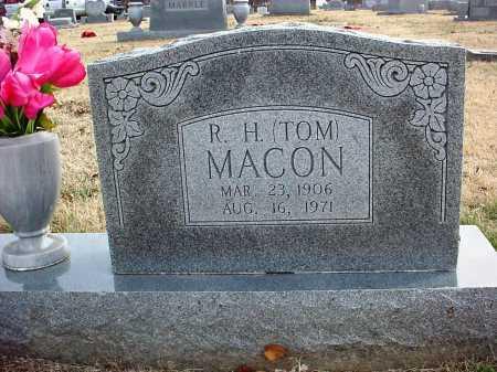 "MACON, R. H. ""TOM"" - Benton County, Arkansas | R. H. ""TOM"" MACON - Arkansas Gravestone Photos"