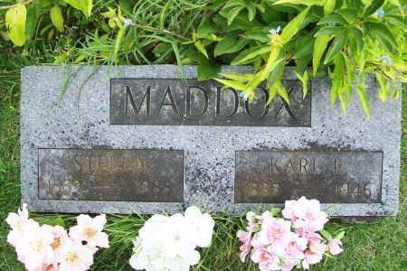 MADDOX, KARL L. - Benton County, Arkansas | KARL L. MADDOX - Arkansas Gravestone Photos