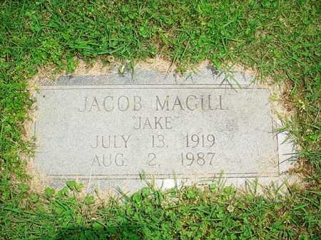 MAGILL, JACOB - Benton County, Arkansas   JACOB MAGILL - Arkansas Gravestone Photos