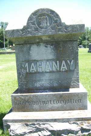 MAHANAY, FAMILY STONE - Benton County, Arkansas   FAMILY STONE MAHANAY - Arkansas Gravestone Photos