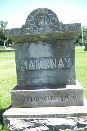 MAHANAY, FAMILY STONE - Benton County, Arkansas | FAMILY STONE MAHANAY - Arkansas Gravestone Photos