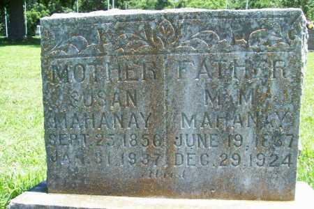 MAHANAY, M. M. - Benton County, Arkansas | M. M. MAHANAY - Arkansas Gravestone Photos