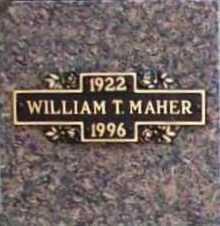 MAHER, WILLIAM T. - Benton County, Arkansas | WILLIAM T. MAHER - Arkansas Gravestone Photos