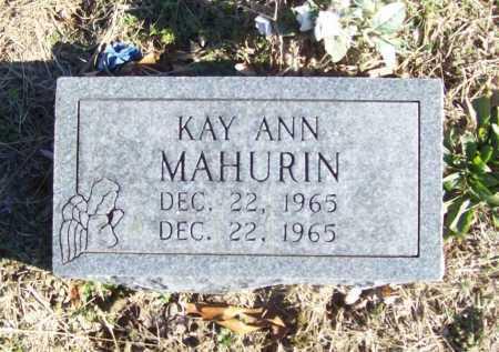 MAHURIN, KAY ANN - Benton County, Arkansas   KAY ANN MAHURIN - Arkansas Gravestone Photos