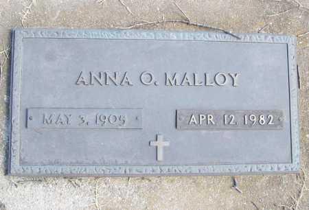 MALLOY, ANNA O. - Benton County, Arkansas | ANNA O. MALLOY - Arkansas Gravestone Photos