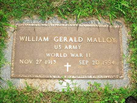 MALLOY (VETERAN WWII), WILLIAM GERALD - Benton County, Arkansas | WILLIAM GERALD MALLOY (VETERAN WWII) - Arkansas Gravestone Photos