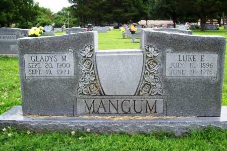 MANGUM, GLADYS M. - Benton County, Arkansas | GLADYS M. MANGUM - Arkansas Gravestone Photos