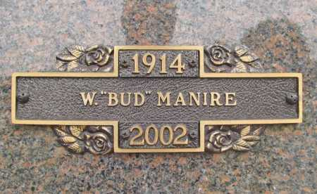 "MANIRE, WILBUR ""BUD"" WARREN - Benton County, Arkansas 