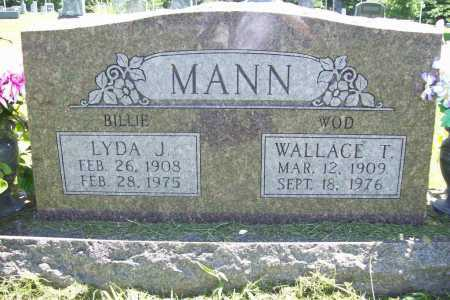 WILLIAMS MANN, LYDA JANE - Benton County, Arkansas | LYDA JANE WILLIAMS MANN - Arkansas Gravestone Photos