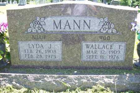 MANN, LYDA JANE - Benton County, Arkansas | LYDA JANE MANN - Arkansas Gravestone Photos