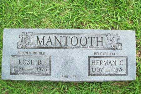 MANTOOTH, HERMAN C. - Benton County, Arkansas | HERMAN C. MANTOOTH - Arkansas Gravestone Photos