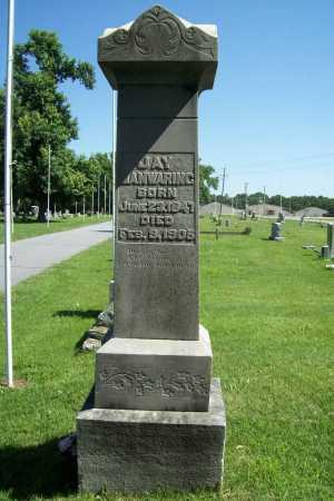 MANWARING, JAY - Benton County, Arkansas | JAY MANWARING - Arkansas Gravestone Photos