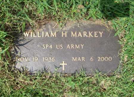 MARKEY (VETERAN), WILLIAM H - Benton County, Arkansas | WILLIAM H MARKEY (VETERAN) - Arkansas Gravestone Photos