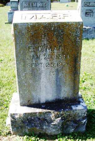 MARR, E. C. - Benton County, Arkansas | E. C. MARR - Arkansas Gravestone Photos