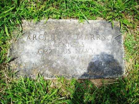MARRS (VETERAN WWII), ARCHIE P. - Benton County, Arkansas   ARCHIE P. MARRS (VETERAN WWII) - Arkansas Gravestone Photos