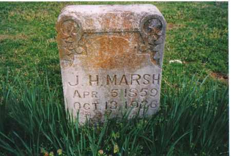MARSH, JACOB HENRY - Benton County, Arkansas   JACOB HENRY MARSH - Arkansas Gravestone Photos