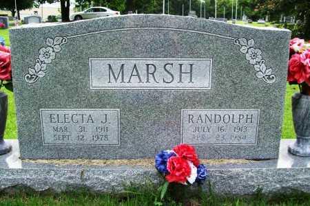 MARSH, RANDOLPH - Benton County, Arkansas | RANDOLPH MARSH - Arkansas Gravestone Photos