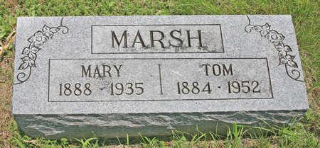MARSH, MARY - Benton County, Arkansas | MARY MARSH - Arkansas Gravestone Photos