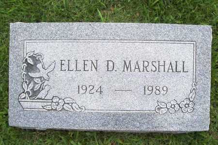 MARSHALL, ELLEN D. - Benton County, Arkansas   ELLEN D. MARSHALL - Arkansas Gravestone Photos