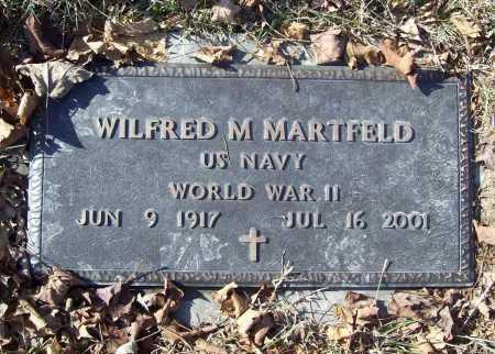 MARTFELD (VETERAN WWII), WILFRED M. - Benton County, Arkansas   WILFRED M. MARTFELD (VETERAN WWII) - Arkansas Gravestone Photos