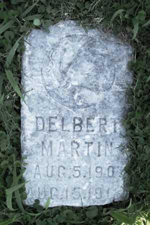 MARTIN, DELBERT - Benton County, Arkansas   DELBERT MARTIN - Arkansas Gravestone Photos