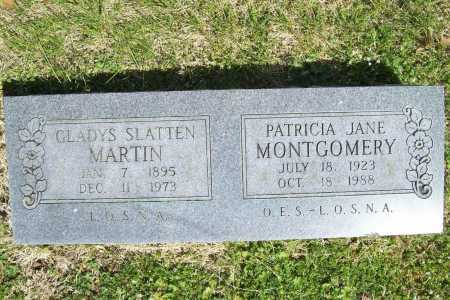 SLATTEN MARTIN, GLADYS - Benton County, Arkansas | GLADYS SLATTEN MARTIN - Arkansas Gravestone Photos