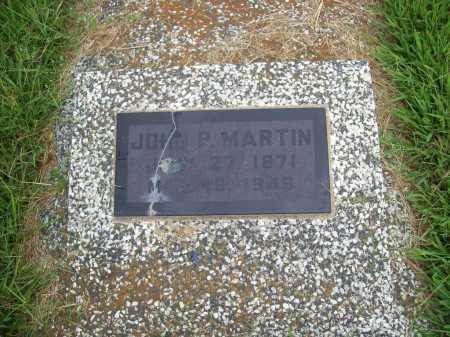 MARTIN, JOHN P. - Benton County, Arkansas   JOHN P. MARTIN - Arkansas Gravestone Photos