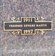MARTIN, THEODORE EDWARD - Benton County, Arkansas | THEODORE EDWARD MARTIN - Arkansas Gravestone Photos
