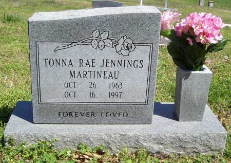 JENNINGS MARTINEAU, TONNA RAE - Benton County, Arkansas | TONNA RAE JENNINGS MARTINEAU - Arkansas Gravestone Photos