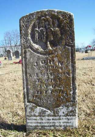 MASHBURN, JOHN - Benton County, Arkansas | JOHN MASHBURN - Arkansas Gravestone Photos