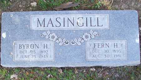 MASINGILL, BYRON H. - Benton County, Arkansas | BYRON H. MASINGILL - Arkansas Gravestone Photos