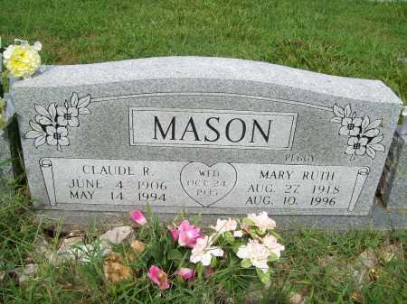 MASON, CLAUDE R. - Benton County, Arkansas | CLAUDE R. MASON - Arkansas Gravestone Photos