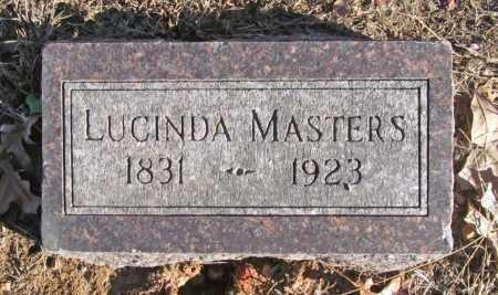 MASTERS, LUCINDA - Benton County, Arkansas | LUCINDA MASTERS - Arkansas Gravestone Photos