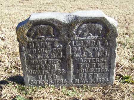 MASTERS, MARY E. - Benton County, Arkansas | MARY E. MASTERS - Arkansas Gravestone Photos