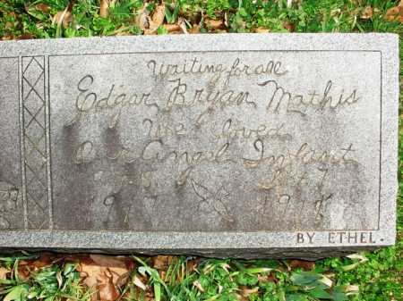 MATHIS, EDGAR BRYAN - Benton County, Arkansas | EDGAR BRYAN MATHIS - Arkansas Gravestone Photos