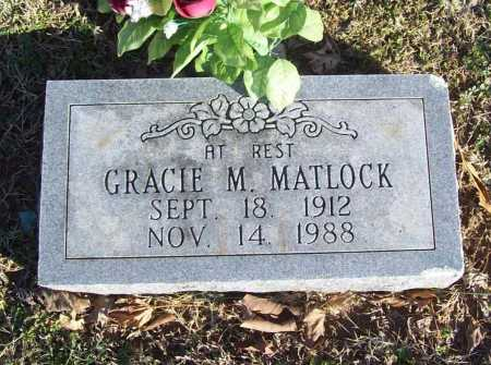 MATLOCK, GRACIE MAE - Benton County, Arkansas | GRACIE MAE MATLOCK - Arkansas Gravestone Photos