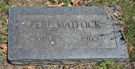 MATLOCK, PERL - Benton County, Arkansas   PERL MATLOCK - Arkansas Gravestone Photos