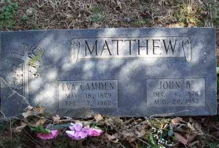 CAMDEN MATTHEW, EVA - Benton County, Arkansas | EVA CAMDEN MATTHEW - Arkansas Gravestone Photos
