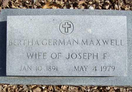 MAXWELL, BERTHA - Benton County, Arkansas | BERTHA MAXWELL - Arkansas Gravestone Photos
