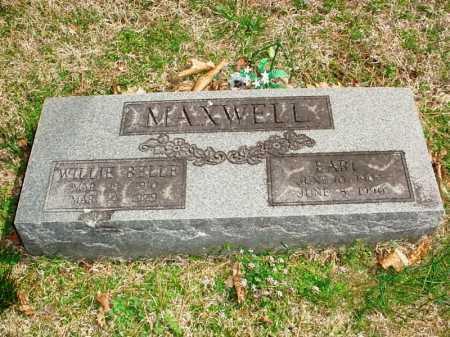 MAXWELL, EARL - Benton County, Arkansas | EARL MAXWELL - Arkansas Gravestone Photos